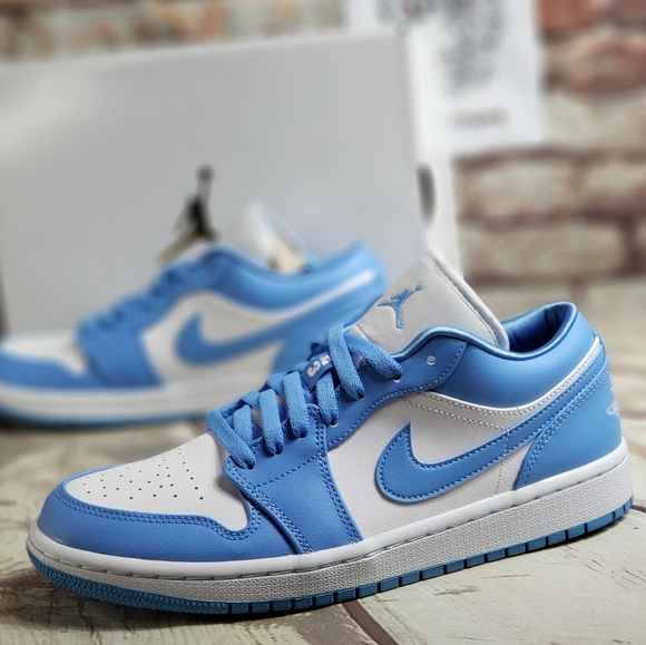 Nike Shoes Air Jordan 1 Low Unc Blue Poshmark